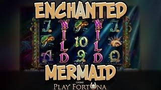Занос в Enchanted Mermaid. Игровые автоматы от NYX. Онлайн казино Playfortuna | Lowbro Casino