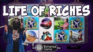 Life of Riches Big Win. Игровые автоматы от Microgaming.  Онлайн казино Bonanza | Lowbro Casino