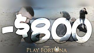 Новые слоты и -$800 проигрыша в казино Playfortuna. Стрим #40  | Lowbro Casino
